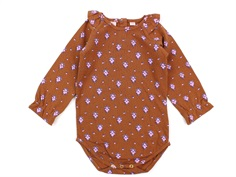 Noa Noa Miniature body print brown flower